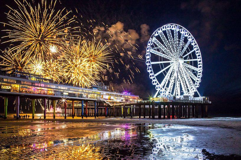 Festival de feux d'artifice Scheveningen 2018 sur Maurice Haak