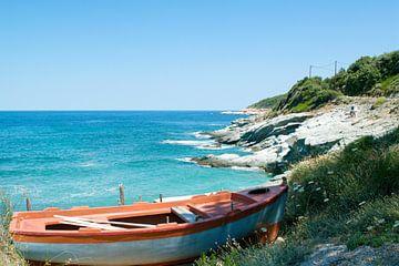 Griechische Bucht von Miranda van Hulst