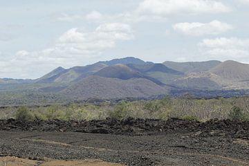 Bergkette Kenia von Laurence Van Hoeck