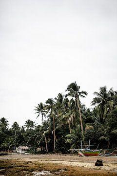 Plage de pêche aux Philippines sur Yvette Baur