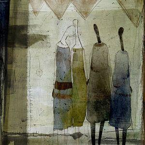Vier Frauen von annemiek groenhout