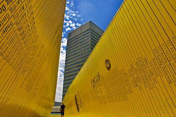 Hofplein - Grijs, Geel en Blauw van