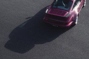 1991 Porsche 964 Turbo Rubystone Red