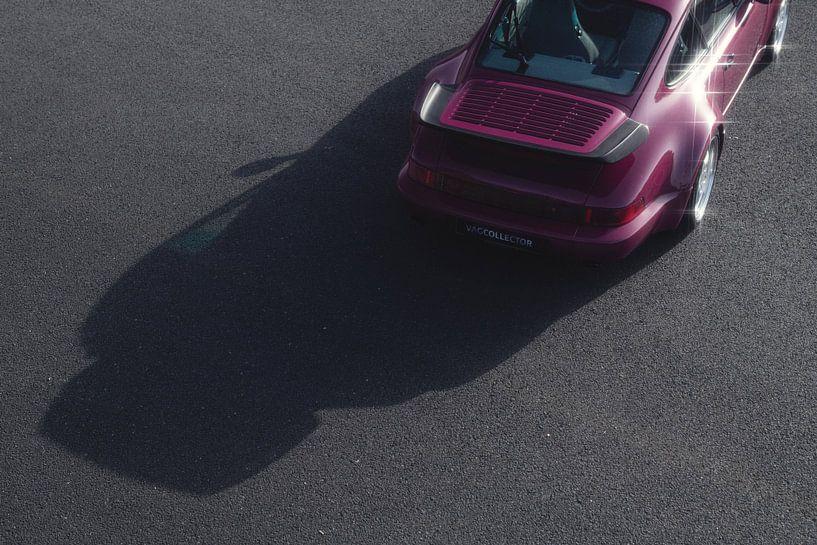 1991 Porsche 964 Turbo Rubystone Red von Gijs Spierings
