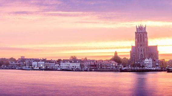 Dordrecht zon's opkomst  van Jeroen van Alten