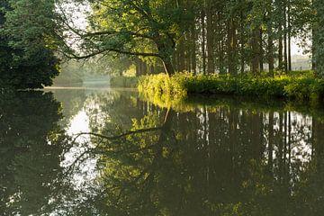 Kromme Rijn tussen Bunnik en Utrecht van Marijke van Eijkeren
