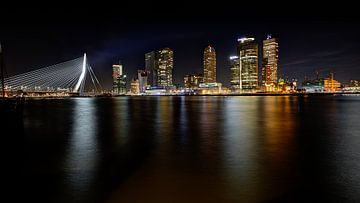 Rotterdam skyline van Linda Raaphorst