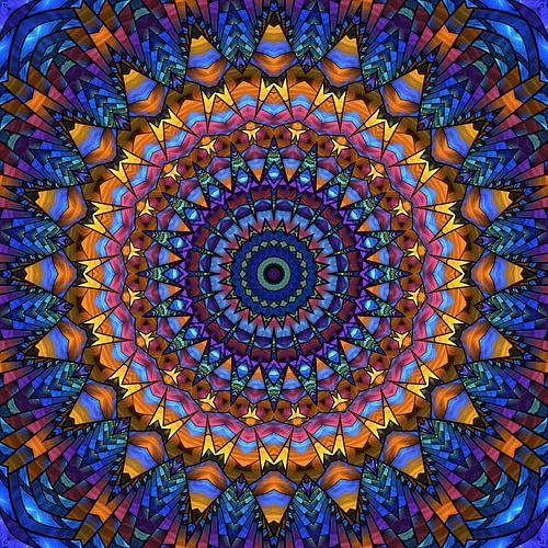 Mandala van de regenboog