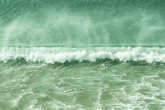 breaking wave von Tina Hartung