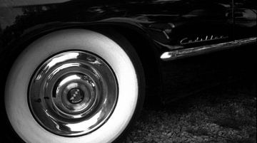 Cadillac in Noorwegen van Rob van Dam