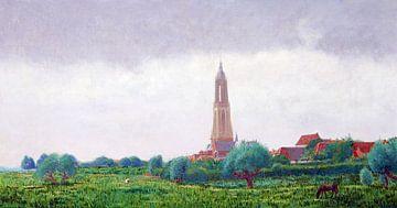 Kirchturm von Rhenen von Atelier Liesjes