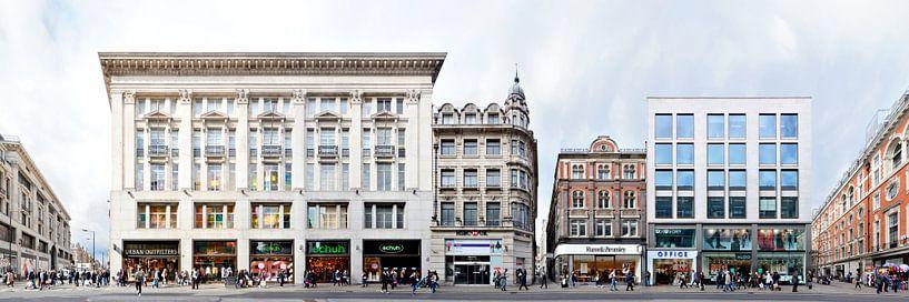 London Oxford Street Panorama von Panorama Streetline