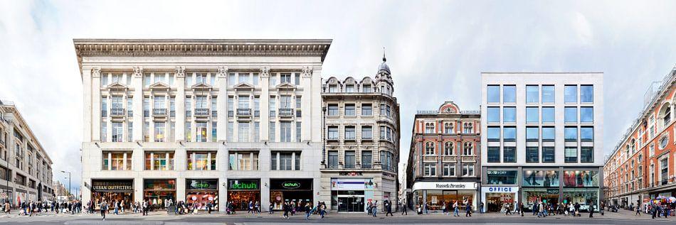 London Oxford Street Panorama