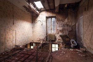 Slaapkamer in Verlaten Kasteel.