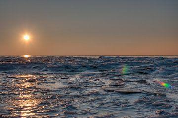 Zee van ijs (HDR) van Alexander van der Sar