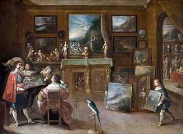 Ein Besuch beim Kunsthändler, Frans Francken (II)