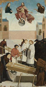 Die sieben Werke der Barmherzigkeit (Teil 4), Meister von Alkmaar