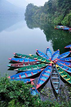 Kano's in Pokhara, Nepal von Herman Coumans