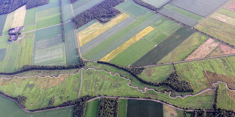 Drenthe von oben von Sander de Jong
