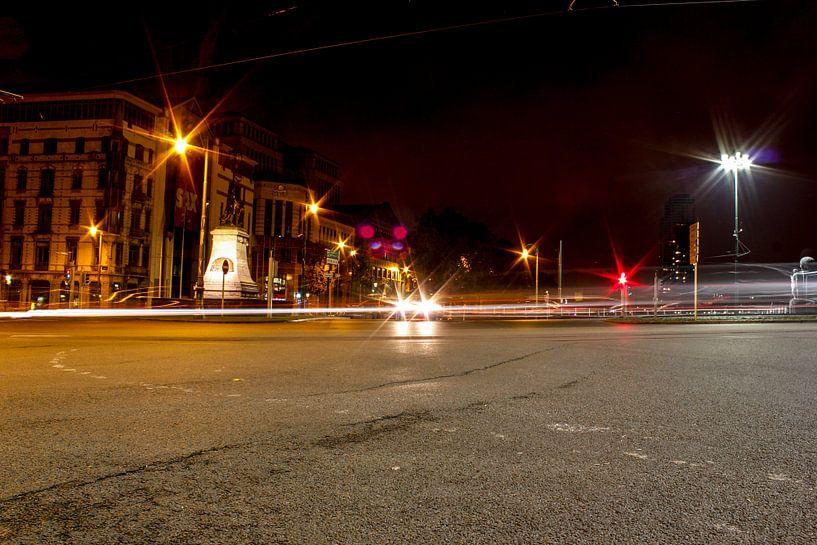 verlichting bij nacht van Erik Koks