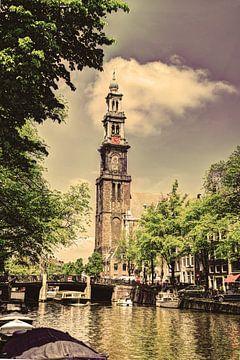 Westerkerk Prinsengracht Amsterdam Oud van Hendrik-Jan Kornelis
