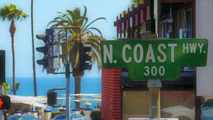 Laguna Beach Street Sign van Marek Bednarek
