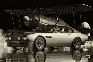 Aston Martin V8 Vantage - eine Legende aus den siebziger Jahren