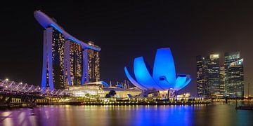 Marina Bay, Singapore van Keith Wilson Photography