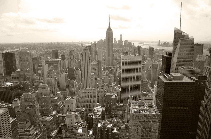 New York City View 1 van Arno Wolsink