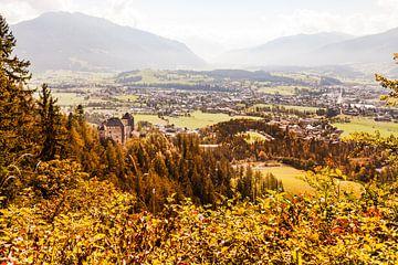 Kasteel Lichtenberg bij Saalfelden, Oostenrijk