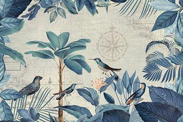 Nostalgische reis van de vogels van Andrea Haase