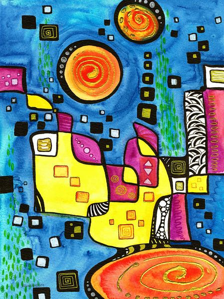 Ego-Transformation #19 van Sandra Riedel ( SaRidie-arts)