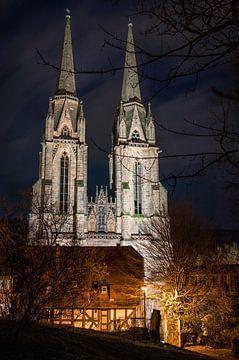 s Nachts in de Elisabethkerk van Jürgen Schmittdiel Photography