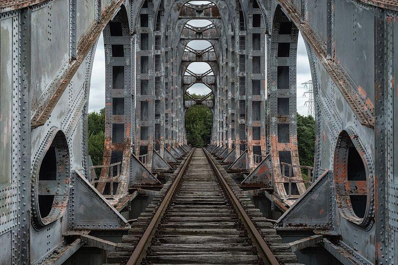 Oude Spoorbrug van Maikel Brands
