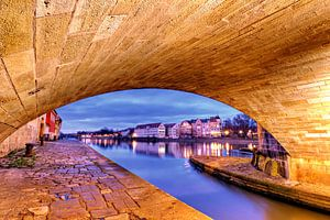 Brückenbogen Regensburg