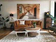 Kundenfoto: Zarte und warme Farben - Verlassene Villa in Italien von Roman Robroek