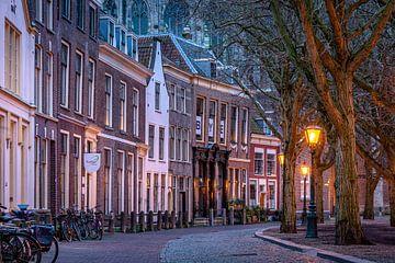 Leiden in Lockdown: Hooglandse Kerkgracht van Carla Matthee