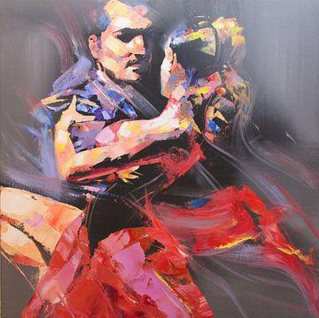 De intense Tango van Branko Kostic