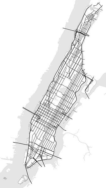 Manhattan, New York von Drawn by Johan