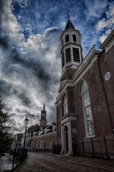 The Elleboog Church Amersfoort (Elbow Church) von Manuel Speksnijder