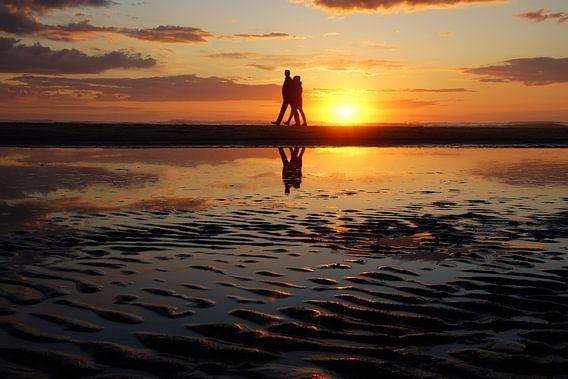 sunset walk van Dirk van Egmond