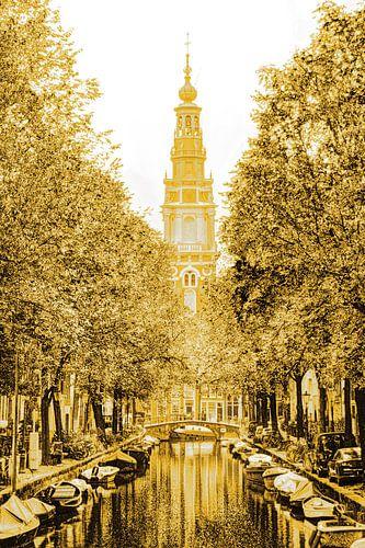 Zuiderkerk Amsterdam Nederland Goud