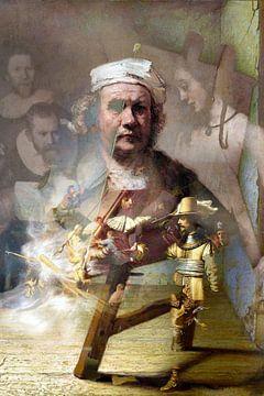 Oude meesters, Rembrandt van Rijn van Kirsti's Kunst