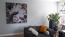 Kundenfoto: Pfauen Paradies von Andrea Haase, als akustikbild