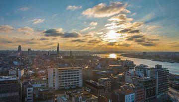 Skyline van Antwerpen  van Freddie de Roeck