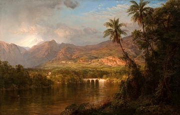 Südamerikanische Landschaft, Frederic-Edwin-Kirche
