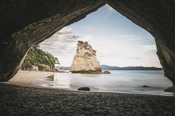 Cathedral Cove Te Whanganui-A-Hei Nieuw-Zeeland van Tom in 't Veld