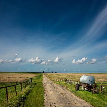 Watertank in de polder van Bo Scheeringa