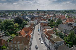 Panorama stad uitzicht