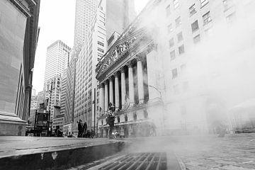 New Yorker Wall Street von René Schotanus